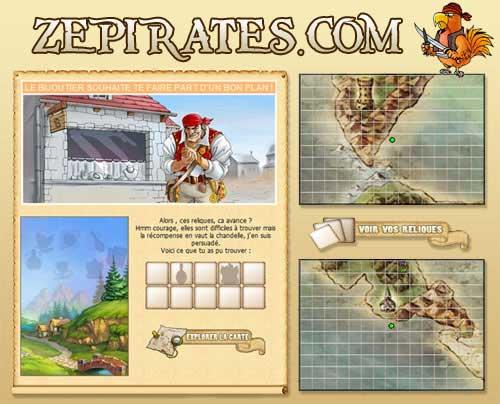 Zepirates : les trésors cachés