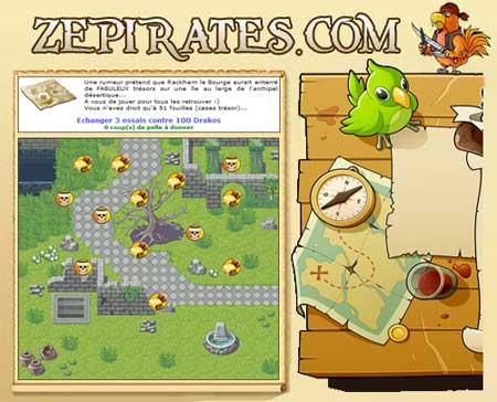 Changements sur zepirates.com