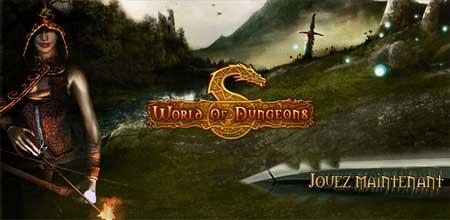 Nouveau jeu de rôle - world of dungeons