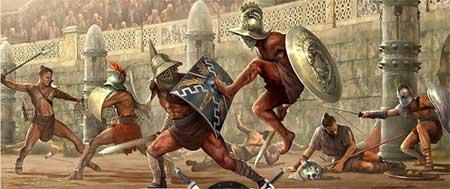 Jeu de gladiateurs gratuit - gladiators