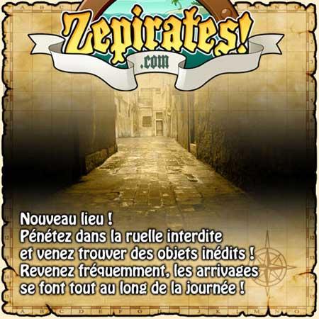 La ruelle interdite sur zepirates