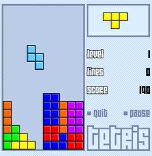de jeux on retrouve les célèbres Tetris , Pacman , et plein de jeux
