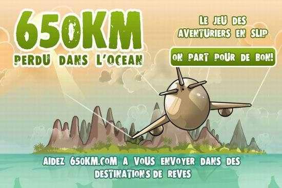 partez en vacances avec 650km