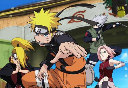 Naruto saga - jeu gratuit à découvrir