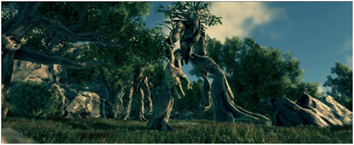 Créature de la forêt 1
