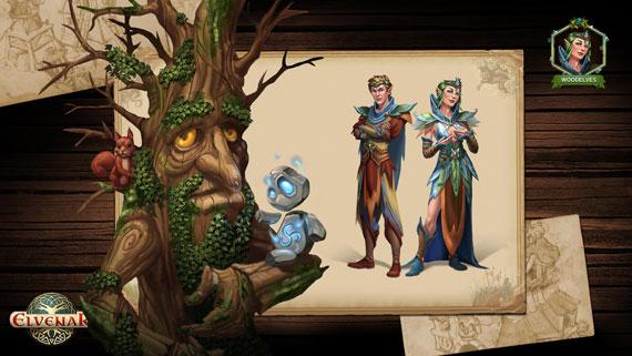 elvenar elfes sylvains