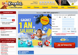 copie d'�cran de Kingoloto